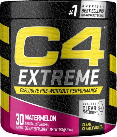 C4 Extreme Explosive Pre-Workout Performance - Watermelon, 6.45oz