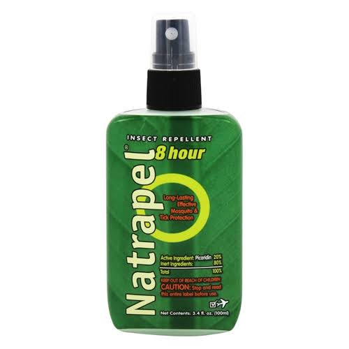 Natrapel 8 Hour Mosquito Tick and Insect Repellent Pump - 3.4oz