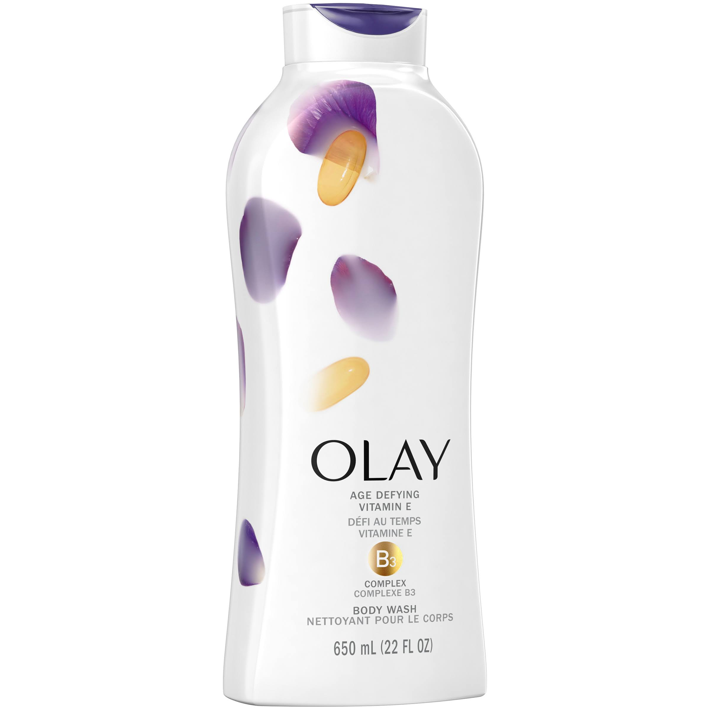 Olay Age Defying with Vitamin E Body Wash - 650ml