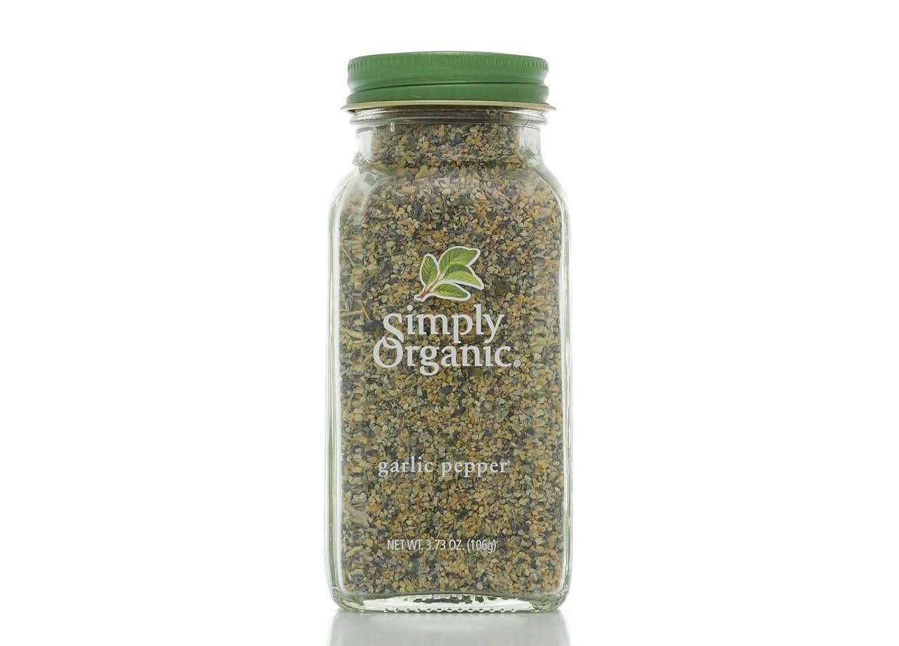 Simply Organic Garlic Pepper - 3.73oz