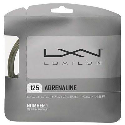 Luxilon Adrenaline 125 String Set - Gray