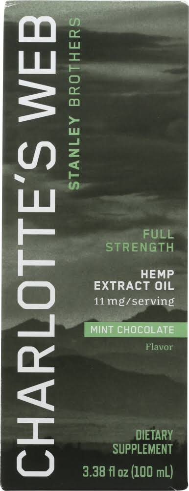 Charlottes Web Everyday Hemp Extract Mint Chocolate 100 ml
