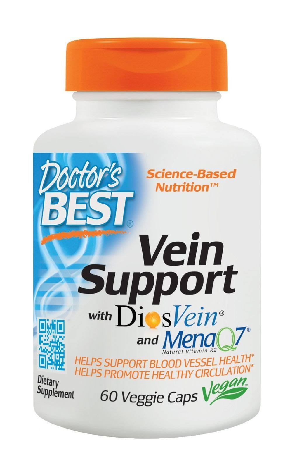 Doctor's Best Best Vein Support Supplement - 60 Veggie Caps