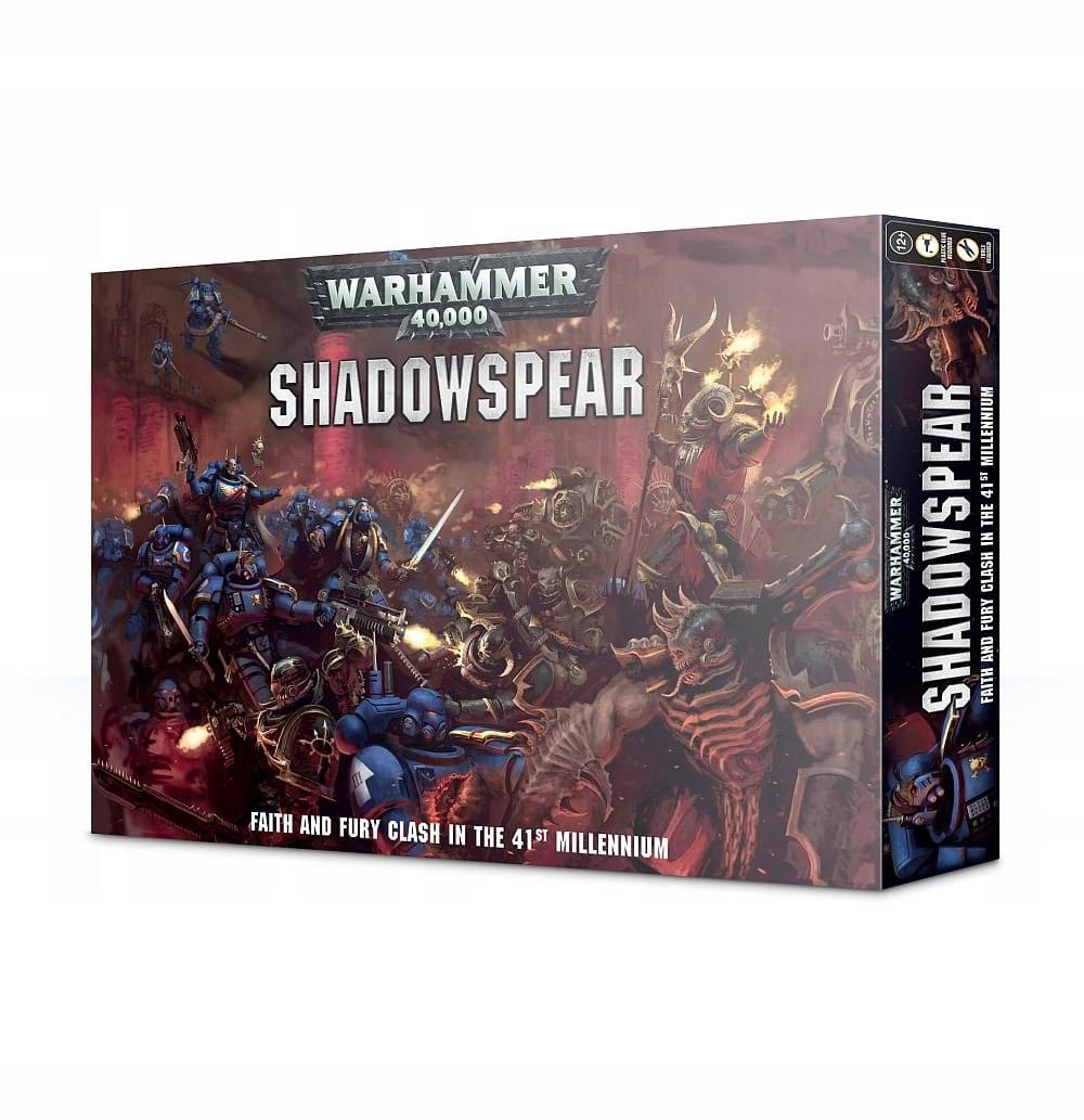 Games Workshop Warhammer 40000 Shadowspear Daemonkin Vanguard Space Marines Set