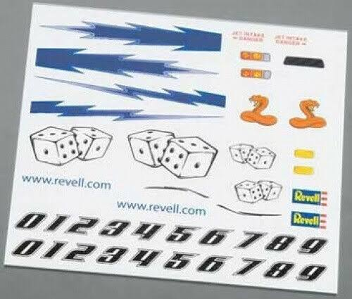 Revell - Dry Transfer Decal D - RMXY9623