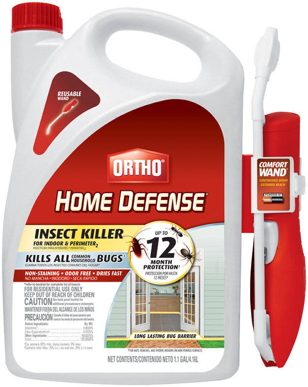 Ortho Home Defense Max Insect Killer for Indoor and Perimeter with Wand