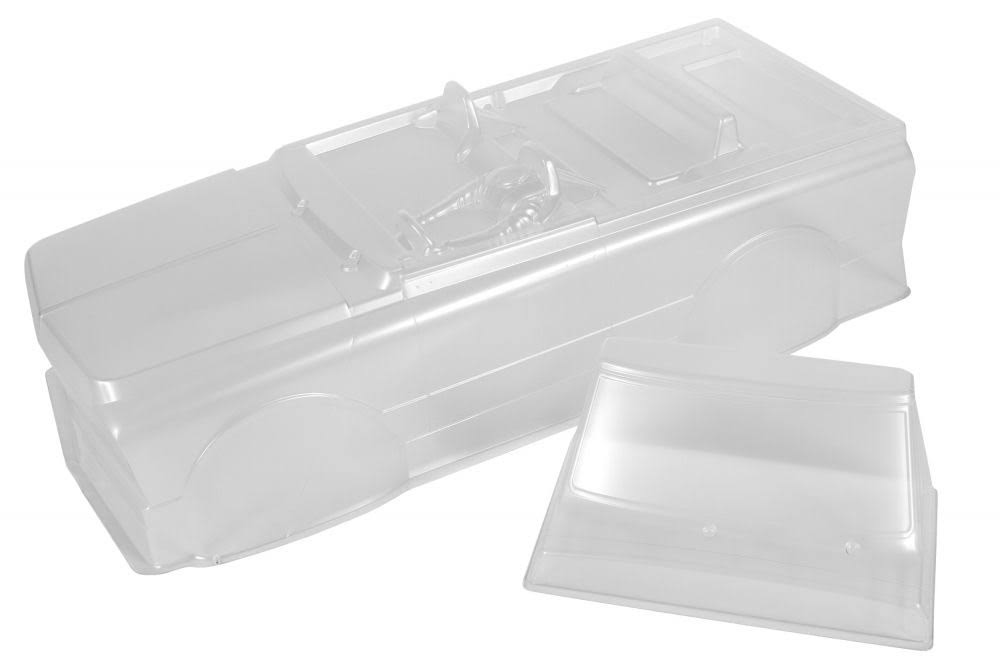 Axial Racing Ax31554 1969 Chevy K5 Blazer Body - 0.04 in, Uncut, Clear