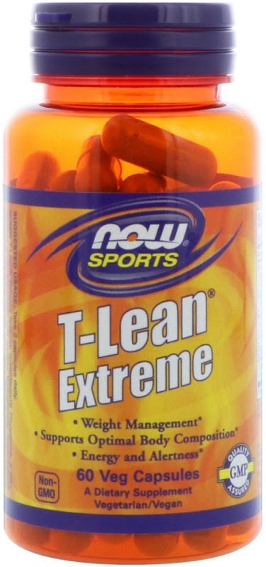 Now Foods T-Lean Extreme Veg Supplement - 60 Count