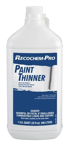 Recordsol Recochem Inc qt Paint Thinner