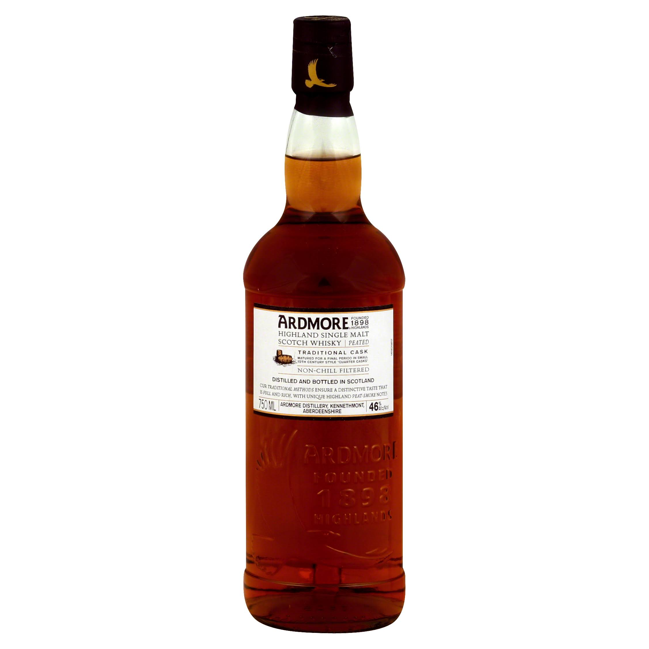 Ardmore Scotch Whisky, Highland Single Malt - 750 ml
