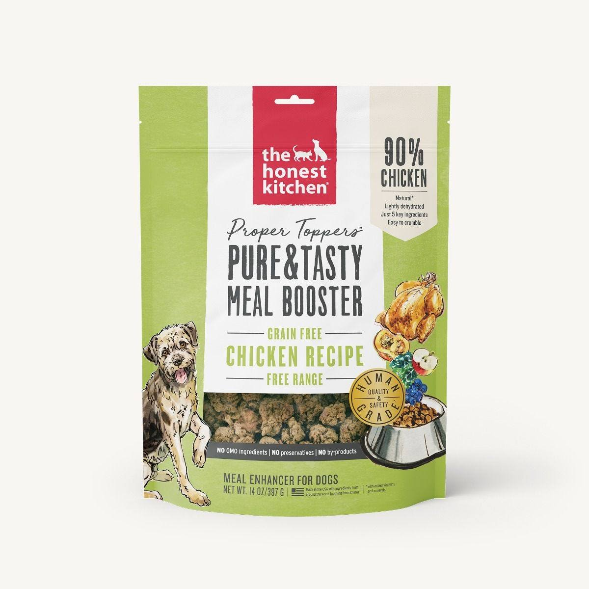The Honest Kitchen - Grain Free Chicken Proper Toppers 14 oz