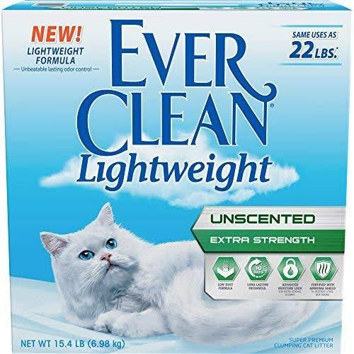Ever Clean Lightweight 15.4lb Unscented Extra Strength