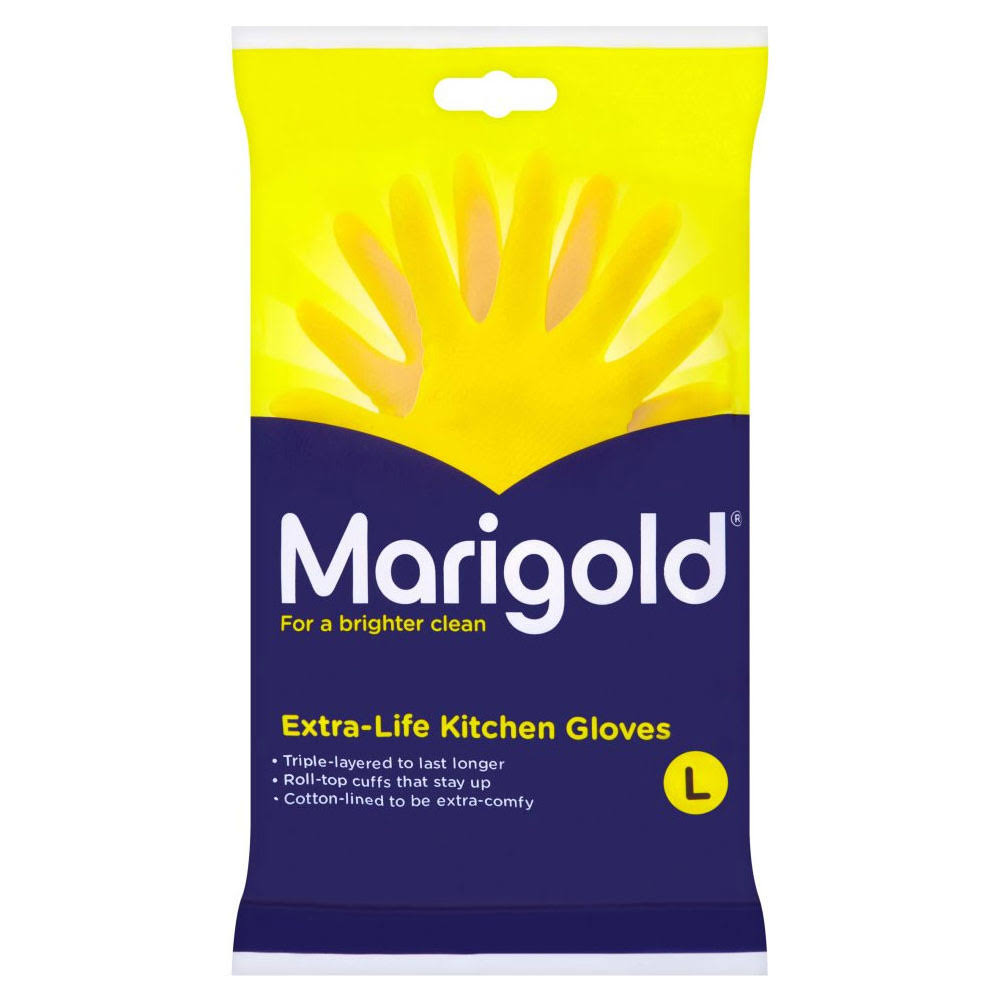 Marigold Extra-Life Kitchen Gloves - Large