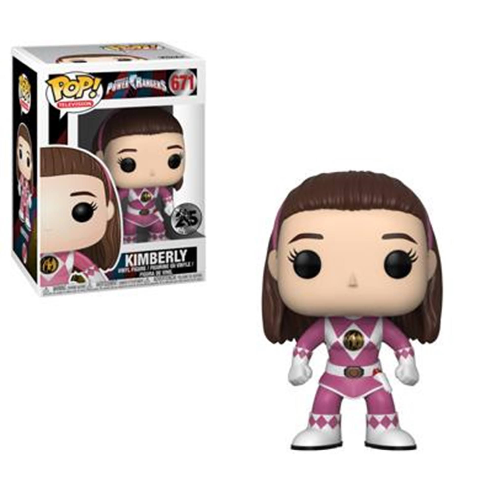 Funko Pop Television 671 Sabans Power Rangers Kimberly Vinyl Figure