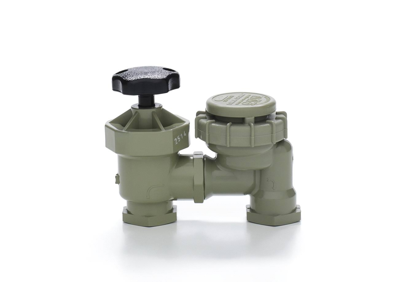 Lawn Genie Manual Anti-Syphon Sprinkler Valve
