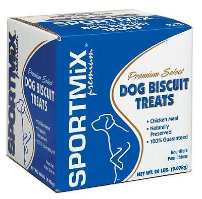 Wells Sportmix Basted Dog Biscuit Treats - Hickory Smoked
