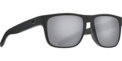 Costa Del Mar Spearo Sunglasses Blackout Gray Silver 580G