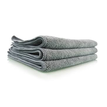 "Chemical Guys Workhorse Professional Grade Microfiber Towel - Gray, 16"" x 16"""