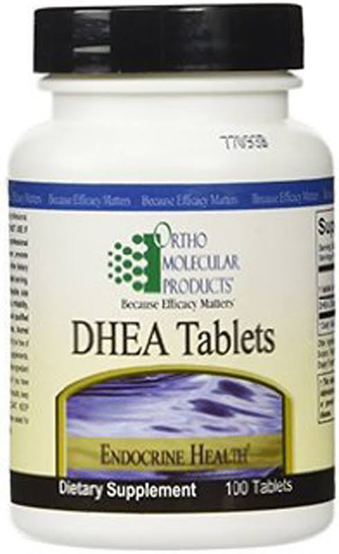 Ortho Molecular Product Dhea Tablets