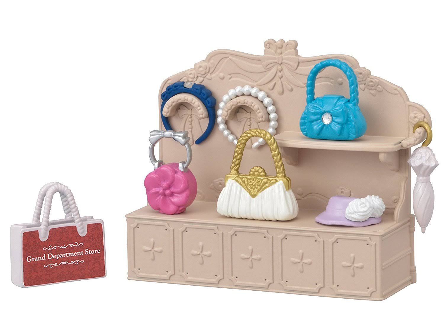 Calico Critters Town Girl Series: Fashion Showcase Set