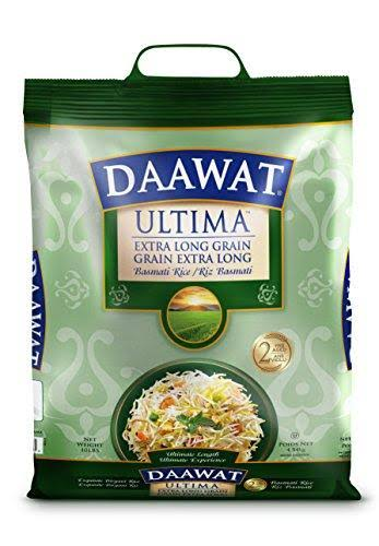 Daawat Ultima Extra Long Grain Basmati Rice - 10lbs