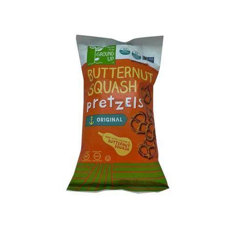 From the Ground Up Butternut Squash Pretzels - Sea Salt, 4.5oz