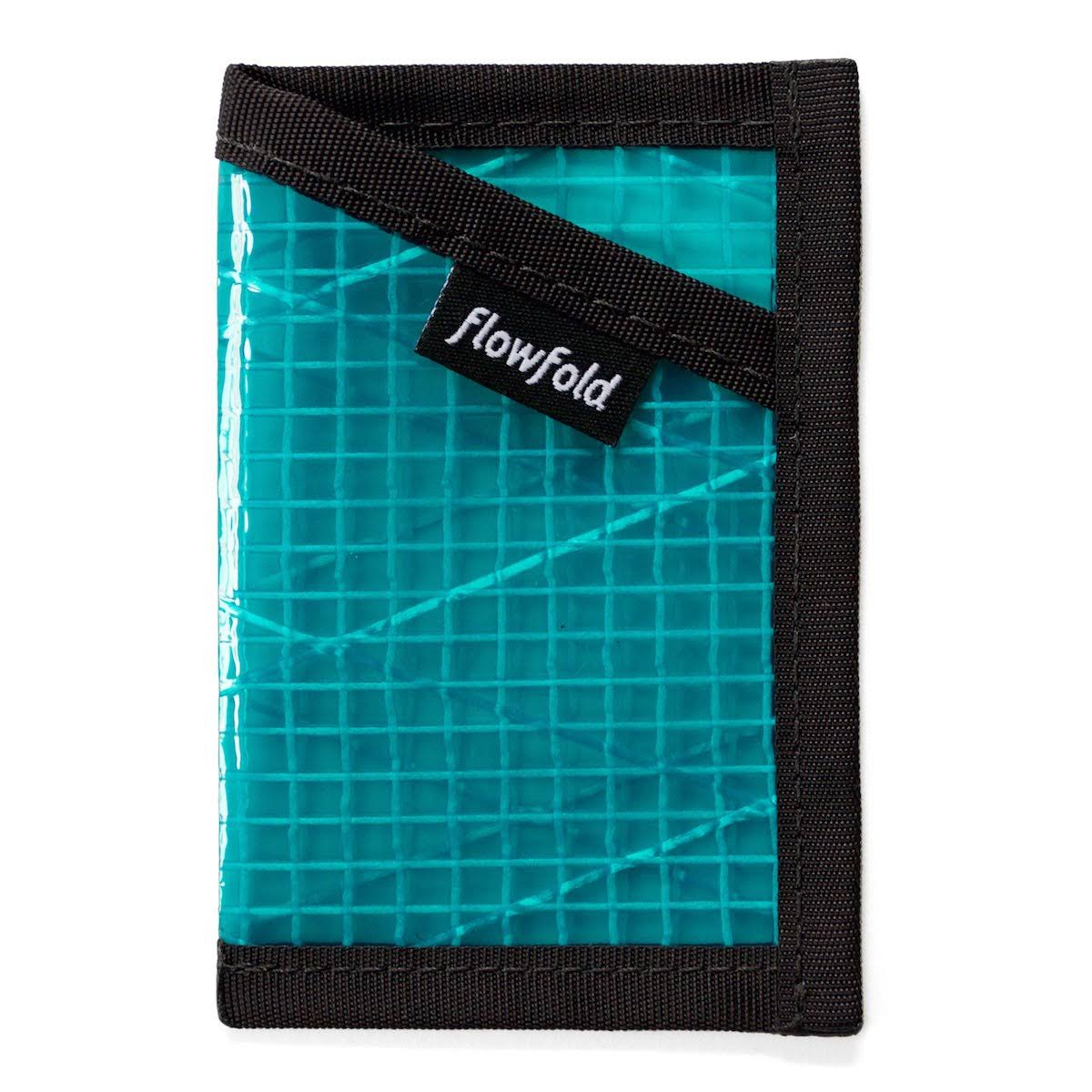 Flowfold Minimalist Card Holder Wallet - Blue
