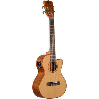 Kala Cedar Top Cutaway Acoustic-Electric Tenor Ukulele - Natural