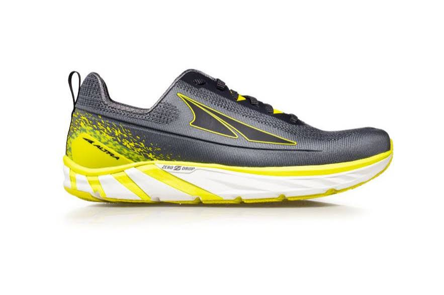 Altra - Men's Torin 4 Plush 10 / Gray/Lime