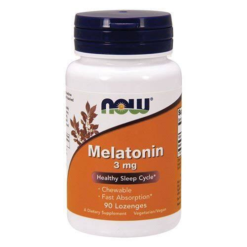 Now Foods Melatonin 3 mg - 90 Lozenges