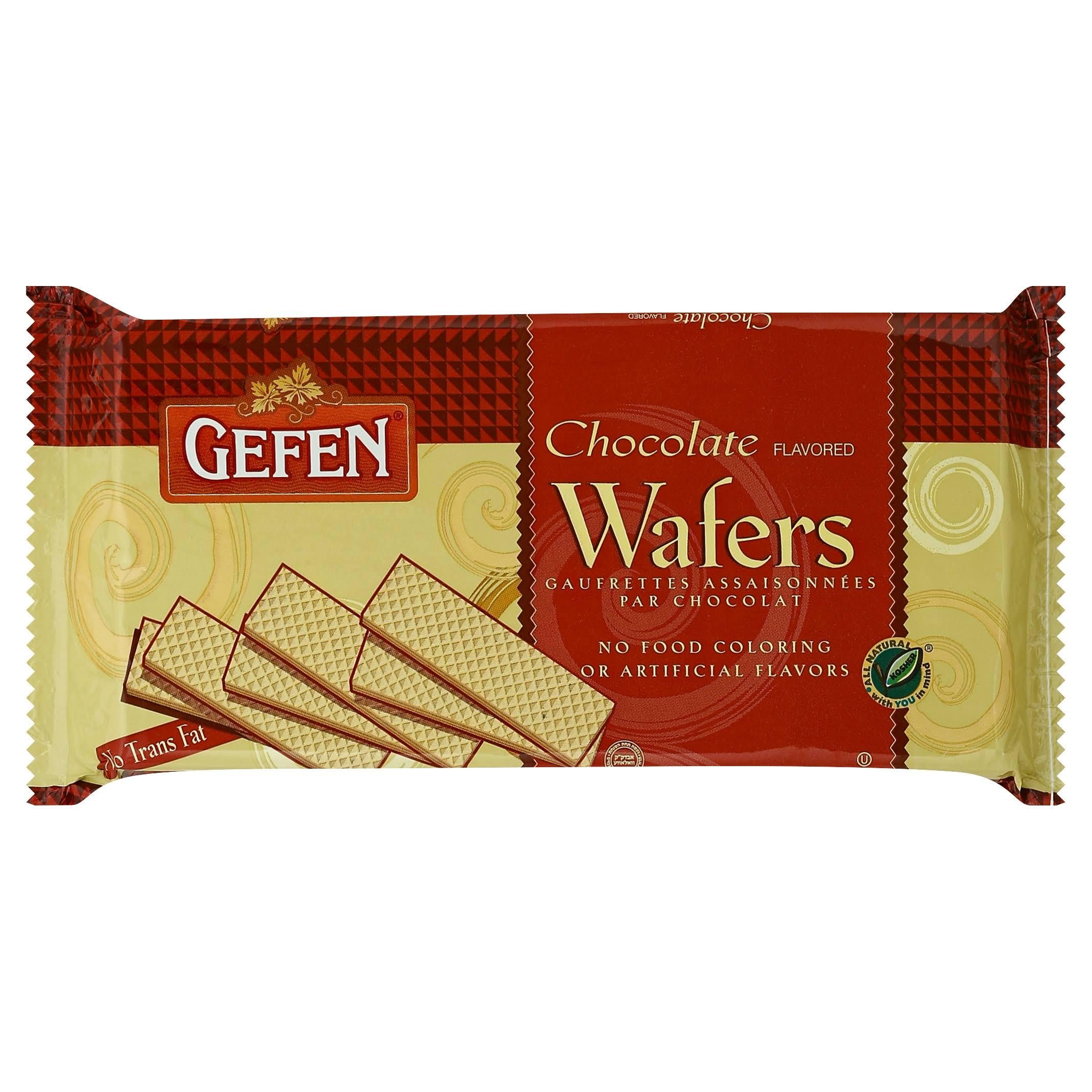 Gefen Wafers, Chocolate Flavored - 14.1 oz