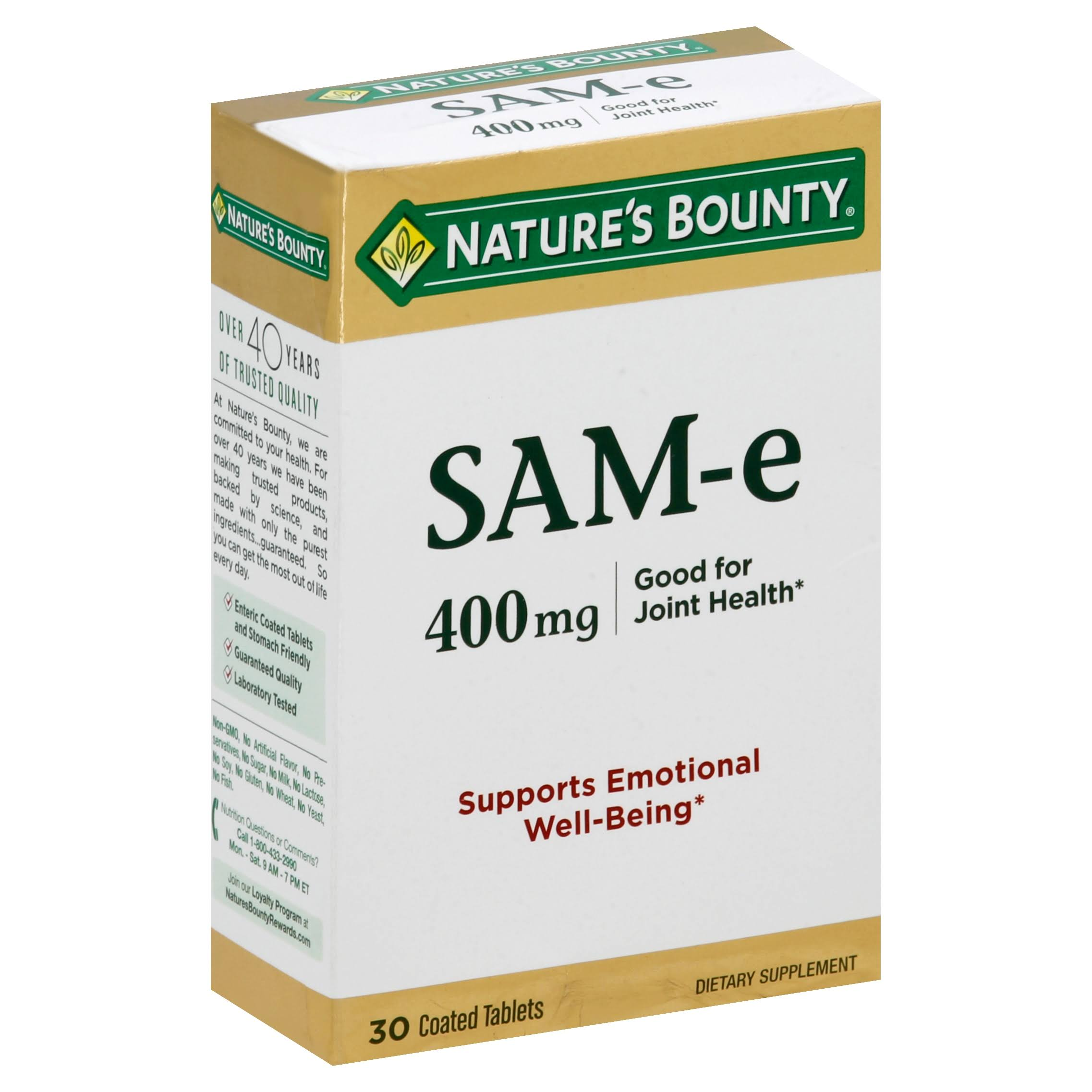 Nature's Bounty Sam-E Dietary Supplement - 30 Tablets
