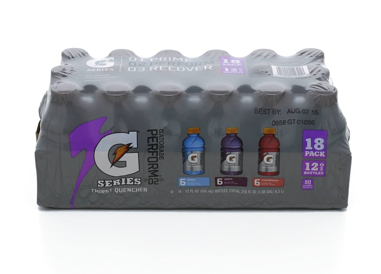 Gatorade Thirst Quencher, 18 Pack - 18 pack, 12 fl oz bottles