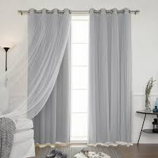 Moroccan Tile Curtain Panels amazon com best home fashion mix u0026 match tulle sheer lace