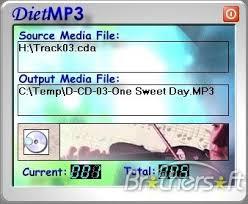 برنامج الخطيــــــــر DietMP3 v4.3 لضغط ملفات mp3 والحفاظ على الجودة 100% مع السيريال*