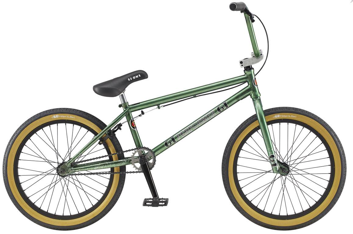 2020 GT Performer BMX Bike - Green