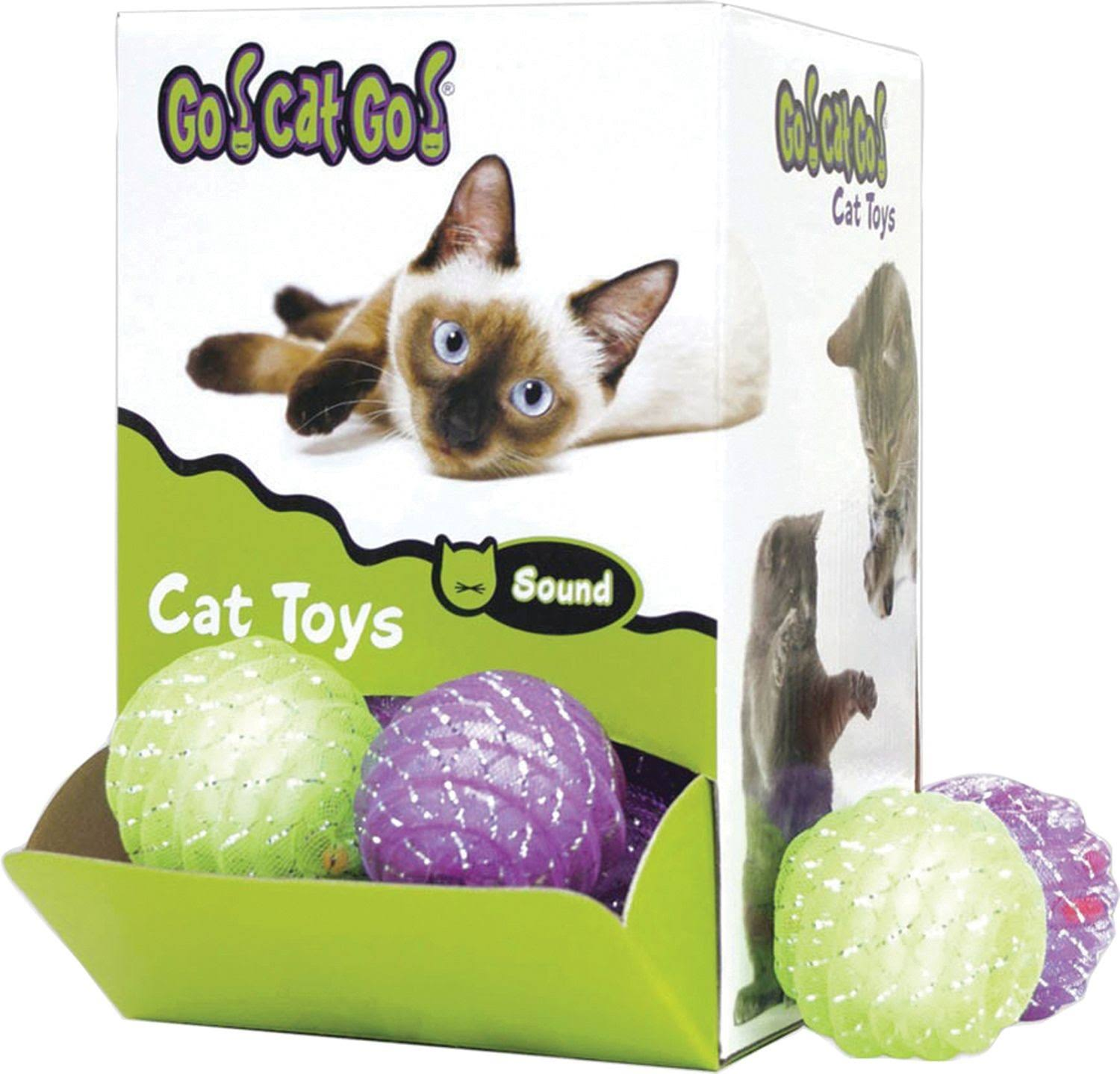 Go Cat Go Chase Rattle and Roll Cat Toy