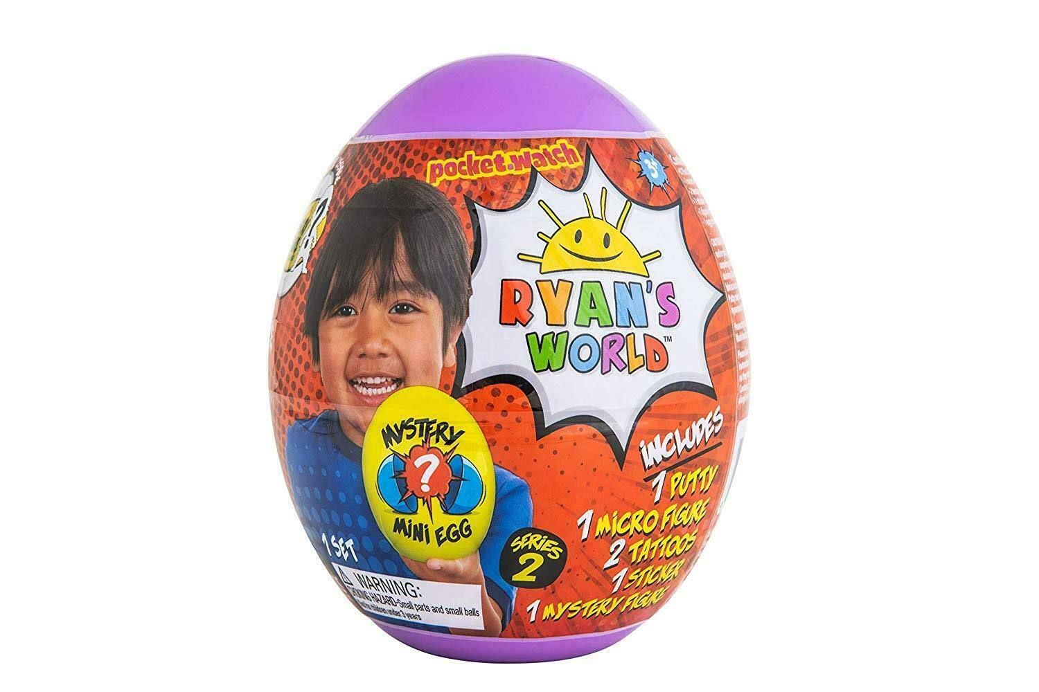 Ryan's World Mystery Mini Egg Series 2 Toy
