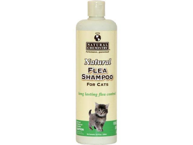 Natural Flea Shampoo For Cats and Kittens - 16.9oz