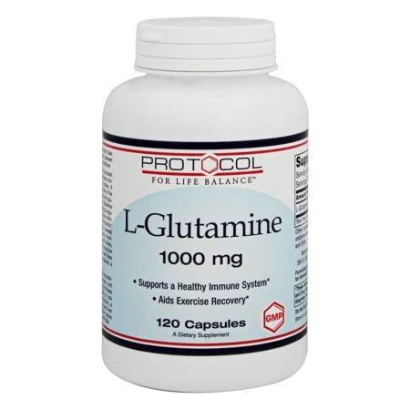 Protocol For Life Balance L-Glutamine Supplement - 1000mg, 120ct