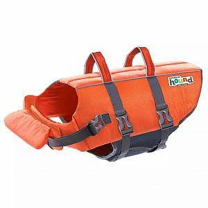Outward Hound Ripstop Dog Life Jacket - Orange, Large