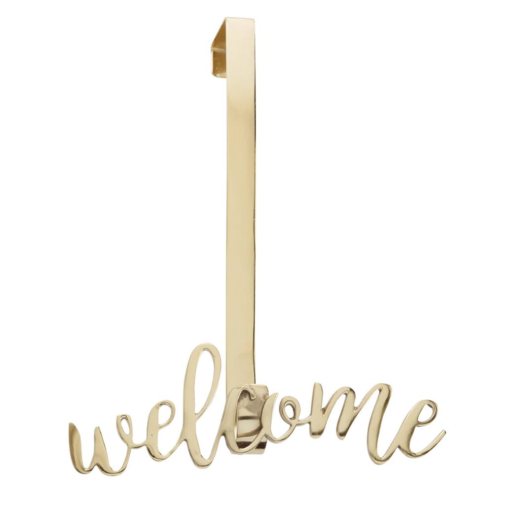 Mud Pie Welcome Wreath Hanger
