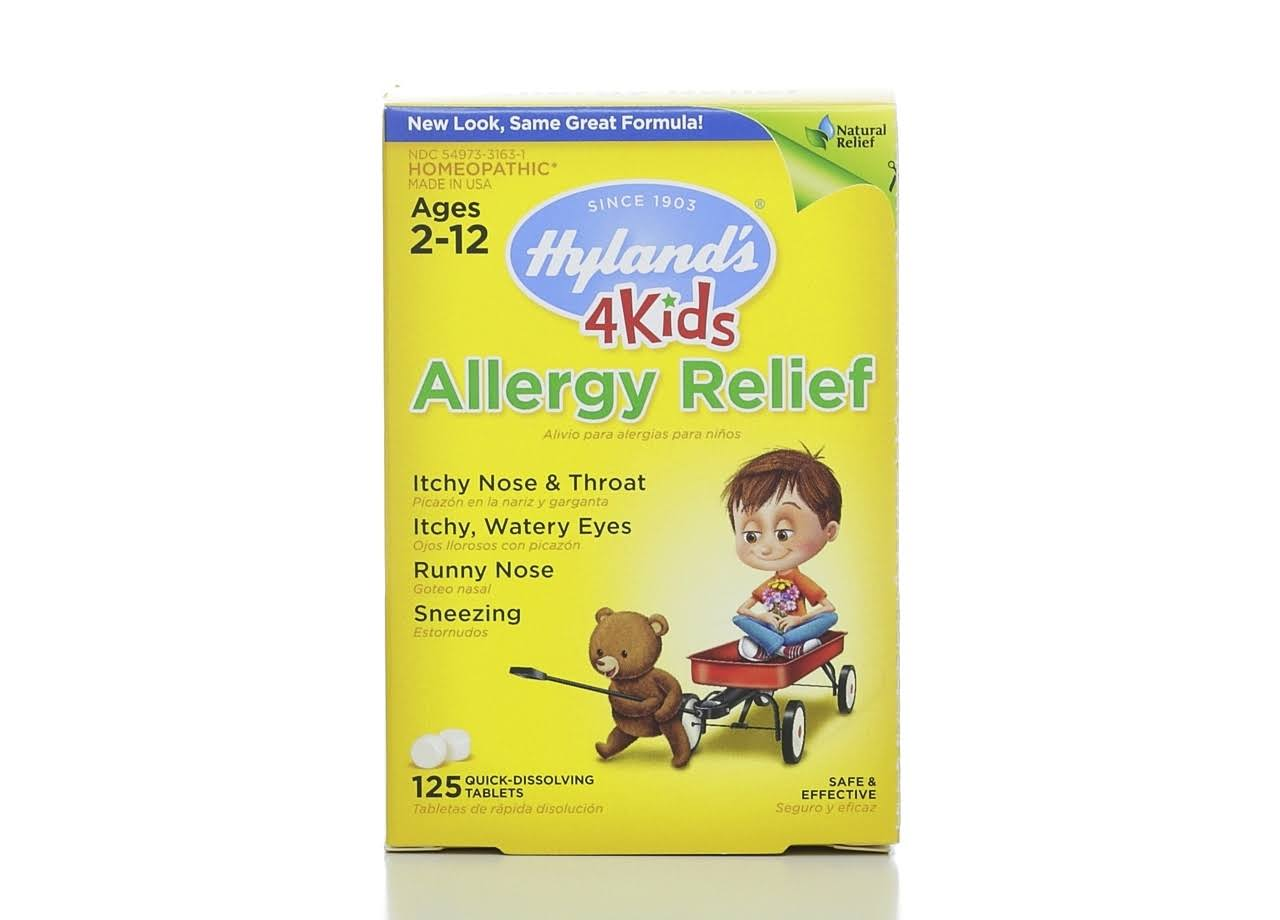 Hyland's 4 Kids Allergy Relief Quick Dissolving Tablets