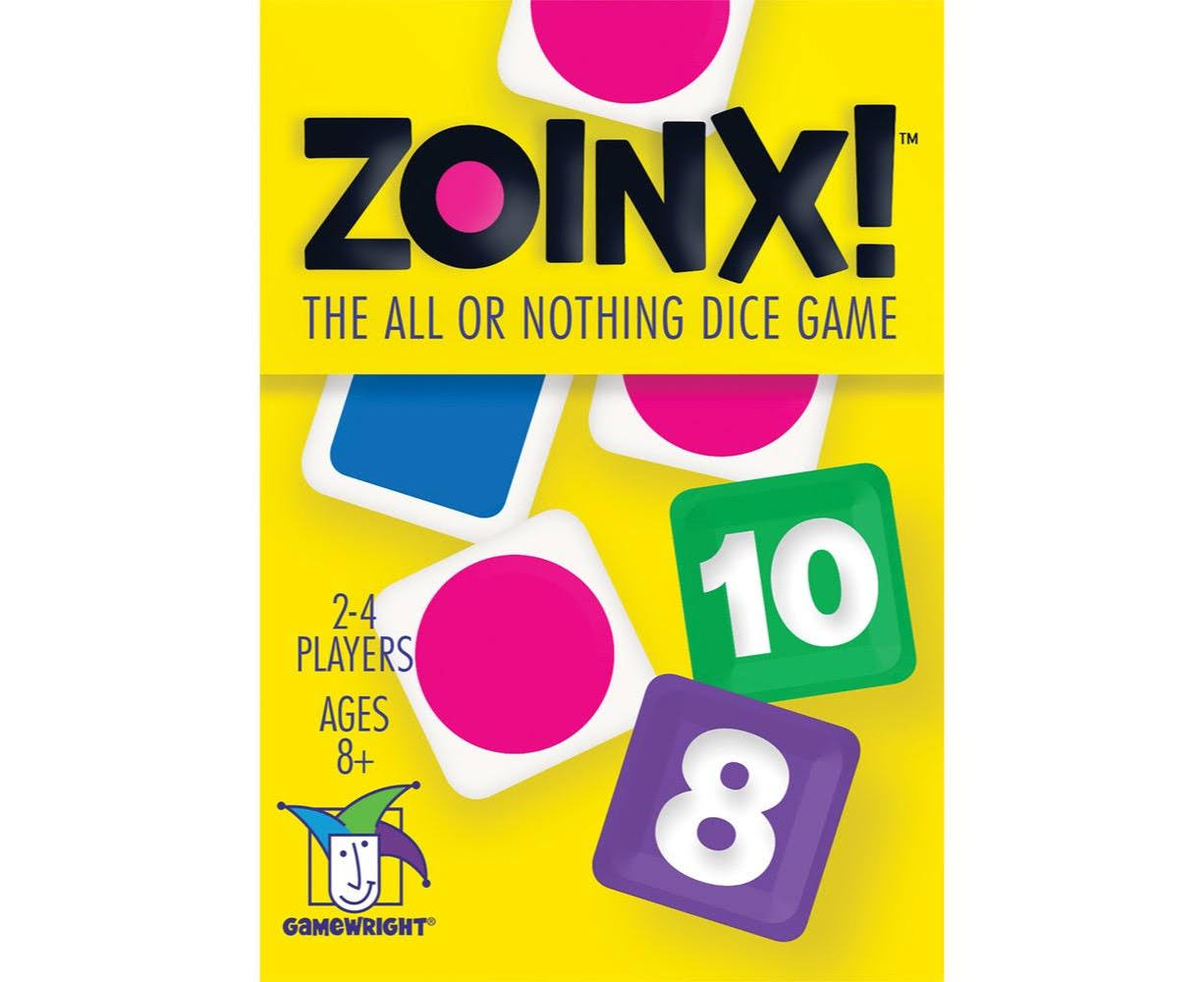 Gamewright Zoinx! Dice Game