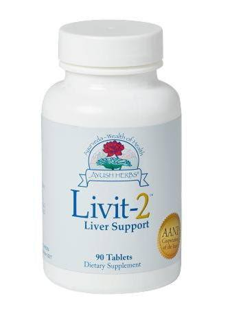 Ayush Herbs - Livit 2 90 Tablets