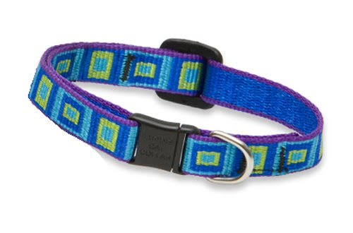 Lupine Cat Safety Collar - Sea Glass