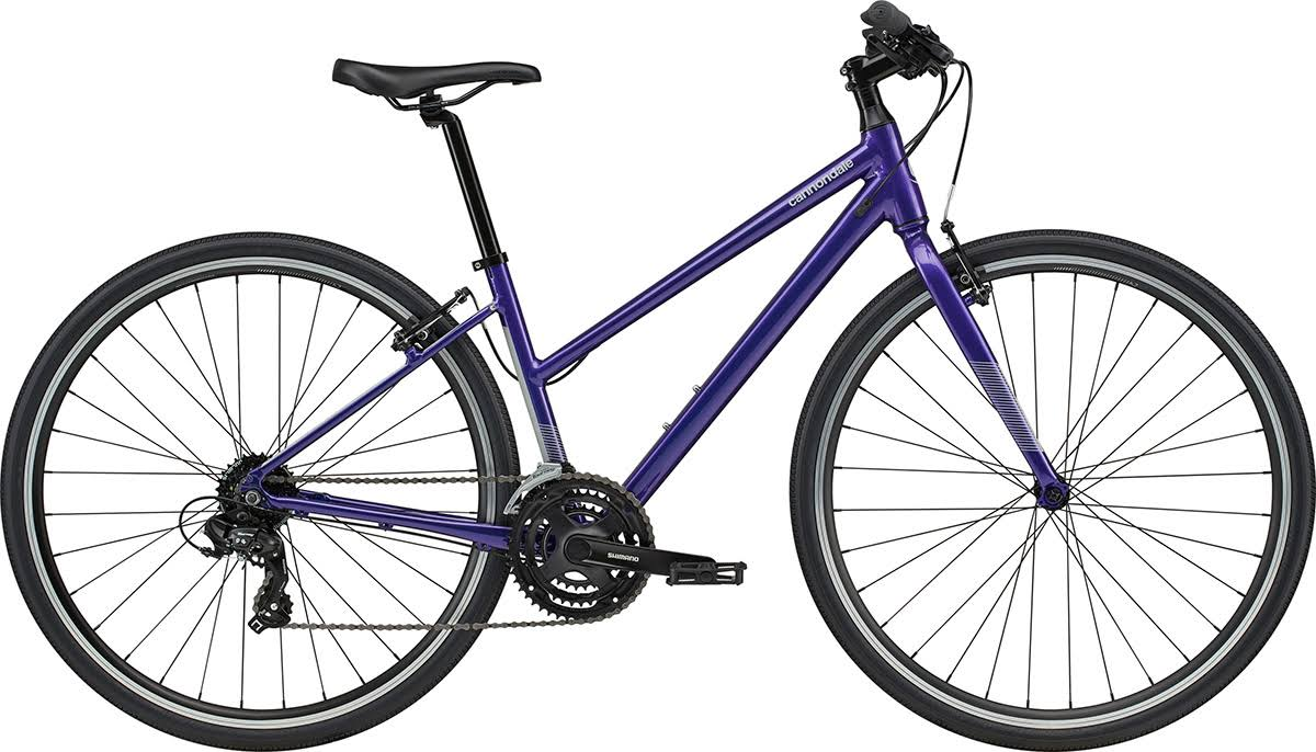 Cannondale Quick 6 Remixte Womens 2020 Hybrid Bike - Ultra Violet