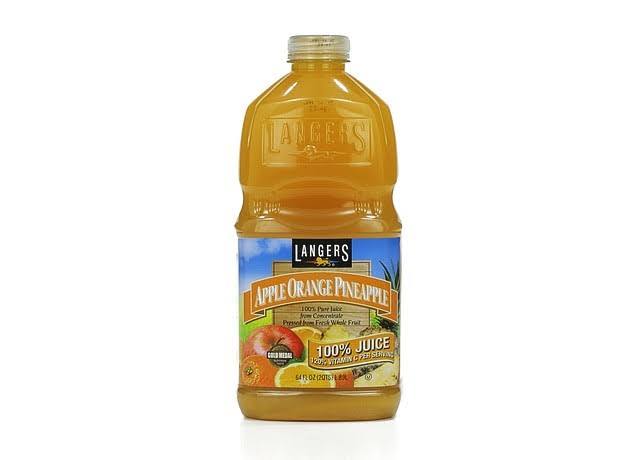 Langers 100% Pure Juice - Apple Orange Pineapple