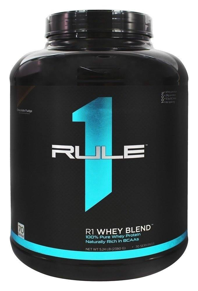 Rule1 R1 Whey Blend Protein Powder