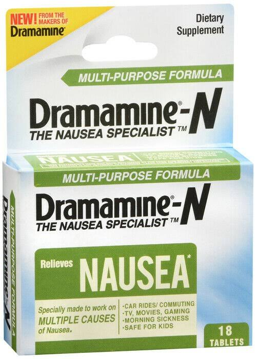 Dramamine Multi-purpose Formula - 18ct